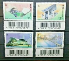 """Hong kong stamps 1997 """"Architecture"""" Series NEW MNH ** set (cat.5a)"""