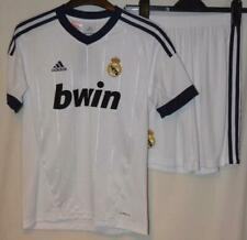 849c51f368c BNWT REAL MADRID 2012-2013 ADIDAS HOME KIT SHIRT   SHORTS UK BOYS 13-