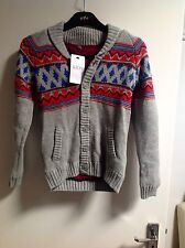 M&S KIDS BUTTON-UP-CARDIGAN-Age-11-12 YEARS OLD