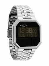 Nixon Men's Quartz Watch Re-run A158000-00 With Metal Strap