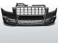 PARAURTI, CALANDRA AUDI A4 04-08 S-LINE CROMO BLACK PDC