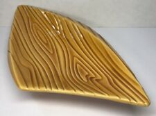 Posacenere Svuota Tasche Forma Libera Vintage Imitazione Vene Di Legno N1