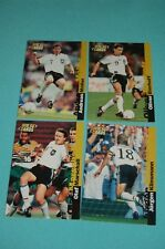 WM 1998 Frankreich - 4 DFB WM 98  Cards - Rarität !