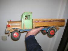 Altes Greiner DDR VEB Holzspielzeug IFA Laster Lastwagen Lkw Kipper - 50er Jahre