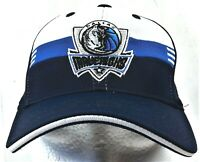 Dallas Mavericks Hat Adidas Stretch One Size Fits All NBA Basketball Cap Blue