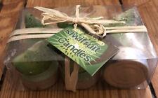 New Zealand Kiwi Fruit Tea Light Candles Set of 6 NIB