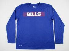 NEW Nike Buffalo Bills - Men's Blue Dri-Fit Long Sleeve Shirt (Multiple Sizes)