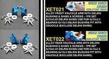 Purple XMODS EVO Truck front & rear knuckles set