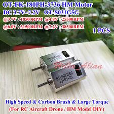 Mini 180 HM Motor DC3.7V 6V 7.2V 38500RPM FK-180PH High Speed Carbon Brush Motor