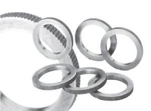 HM Reduzierring  für Kreissägeblätter gerändelt passgenau H7 Stärke 1,6-2,0 mm