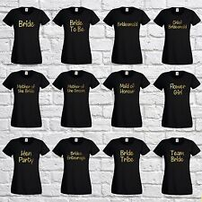 Personalised Hen Night Do, Bride Squad, Team Bride, Bridal Party Night T-Shirt