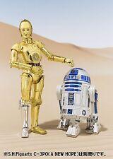 Bandai S.H.Figuarts Star Wars C-3PO & R2-D2 SET (A NEW HOPE) Japan version