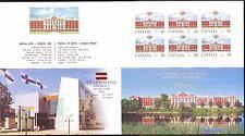 "Latvia - ""Helsinki Stamp Fair 2000"" Booklet"