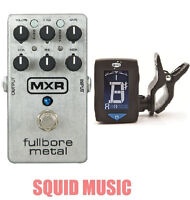 MXR Fullbore Metal Distortion Guitar Effects Pedal M-116 ( GUITAR TUNER ) M116