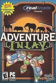 ADVENTURE INLAY - Mind Bending Puzzle Strategy PC Game - US Version - NEW Sealed