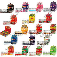 JUICY JAYS FRUITY FLAVOURED KING SIZE SLIM ROLLING PAPERS (15 FLAVOURES)