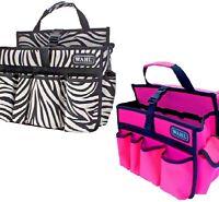 WAHL GROOMING BAG - (zebra / pink) - Pet Grooming bp Clippers Combs Travel Case
