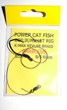 Power Catfish Boilie/Pellet Rig Barbless 1/0 - Catfish