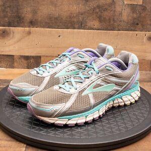 Brooks Defyance 9 Womens Athletic Shoes Running Walking Training Gray Size 13B