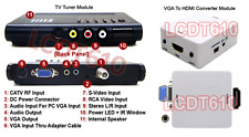 Coax RF Composite RCA Component Video To HDMI DVI VGA Converter