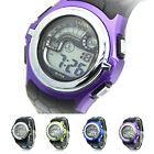 Multi-Function Cool Sports Watch LED Analog Digital Waterproof Alarm Wrist Watch