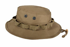 Rothco Coyote Brown Hunting Fishing Outdoor Military Boonie Bucket Hat Large