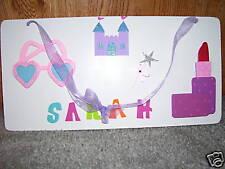 Princess rectangle plaque for Sarah