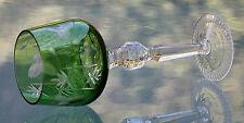 Weinglas Römer Bleikristall  Jugendstil um 1920 Schleuderstern  Topzustand  !