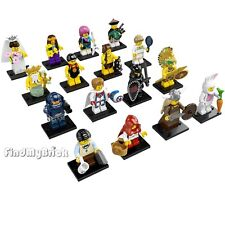 NEW Lego Minifigure 8831 Series 7 - Lot of 16 Brand New In Unsealed Package NEW