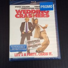 Wedding Crashers Blu-ray Disc 2008 Original Uncorked Editions BRAND NEW