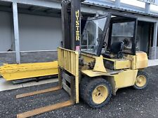Hyster H70Xl Diesel Forklift 7,000 Lbs Pneumatic Tire Forklift