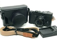 Fujifilm X Series X10 12.0MP Digital Camera w/Leather Case From Japan [Exc+++] #