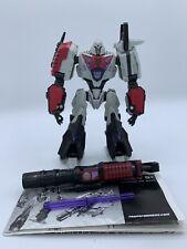 Transformers Generations War for Cybertron Deluxe Cybertronian Megatron Figure