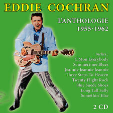 CD Eddie Cochran : L'anthologie / 1955 - 1962 / Coffret 2 CD