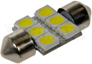 Dorman 3175W-SMD 3175 White 5050SMD 6LED Bulb