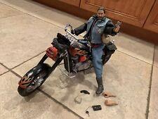 21st century  Beech & Crossroads Motorcycle & Figure 1/6 scale in the box