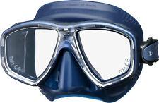 Tusa Freedom Ceos Mask Scuba Diving, FreeDiving, Snorkeling Indigo M-212QID-ID
