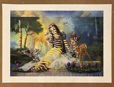 "Super A ""Snow White"" art poster print #/50 limited original Disney"