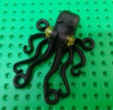*NEW* Lego Black Octopus Squid for Ocean Sea Pirates Bath Settings x 1