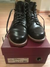 Wolverine 1000 Mile Mens Size US 9.5 Black Boots Horween Leather $385