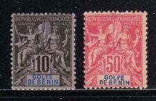 Benin Scott 24, 30  French Colonies Stamps Mint/Unused