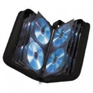 Neo Media Carry Case 48 96 120 Disc CD DVD Ring Binder High Quality Storage New