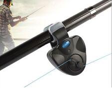 Electronic Fishing Bite Alarm Sound LED Light Alert Bell Clip-On Fishing Rod Hot