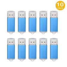 10 Pack 16GB Thumb Pen Drive USB 2.0 Flash Drives High Speed Flash Memory Stick