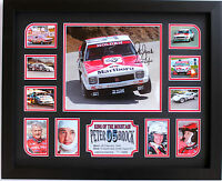 New Peter Brock Signed Limited Edition Memorabilia Framed