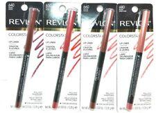 **Lot of 4** Revlon Colorstay Lipliner Shades: 640, 650, 660 & 680 w/ Sharpener
