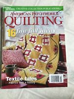 October 2002 No 58 Better Homes and Gardens American Patchwork and Quilting