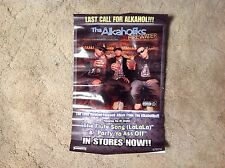 The Alkaholiks Promo Poster Lp Cd Record Music 17x11 vintage .