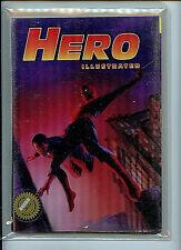 Hero Illustrated Issue #6 3D Hologram Variant Wizard COA 1993 Comic News H28