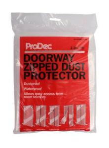 ProDec Doorway Zip Door Protector Kit Clear Dustproof Waterproof (PDPY004)